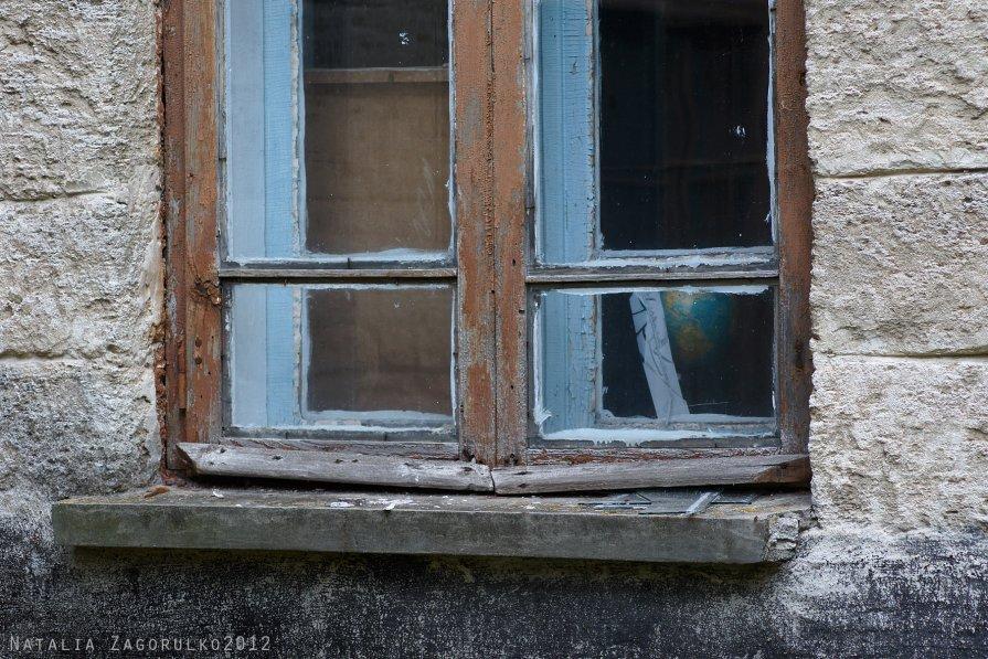 школьное окно... - Наталья Загорулько