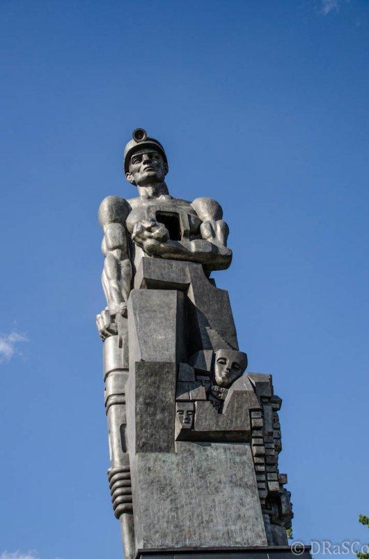 Памятник шахтёрам - Роман Яшкин
