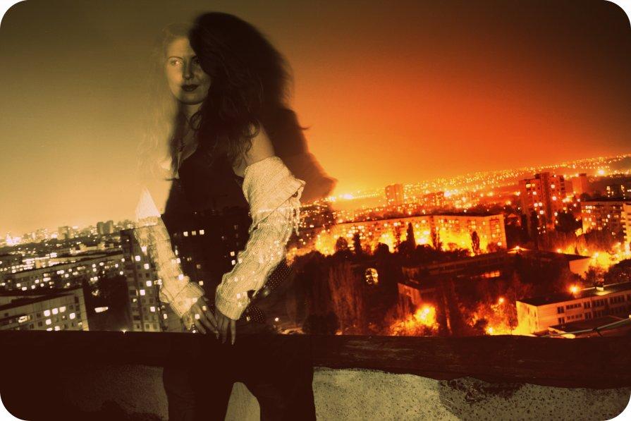 Ночь на крыше - Алексей Сухоставский