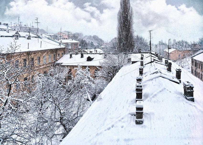 Зимние крыши - Игорь Сытник
