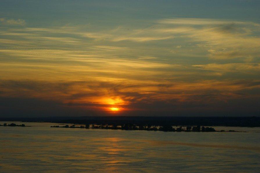 закат на Волге - Ильмира Насыбуллина