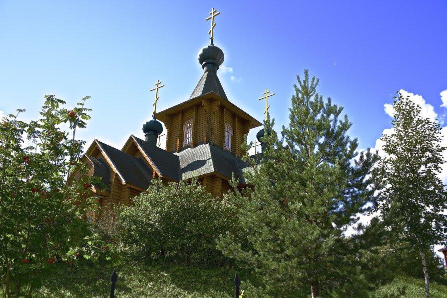 Храм в Сыктывкаре.2 - Анатолий Викторович КЛИМЕНКОВ