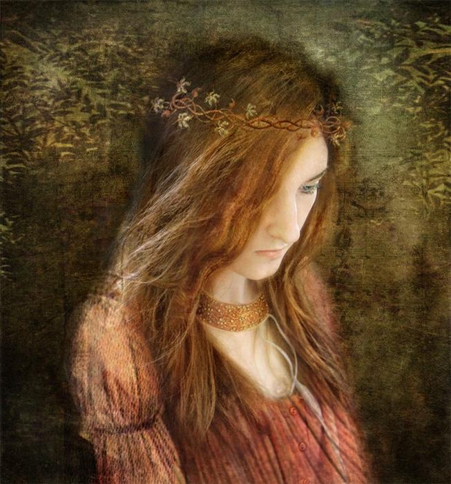 Девушка с рыжими волосами. - София Ахметова