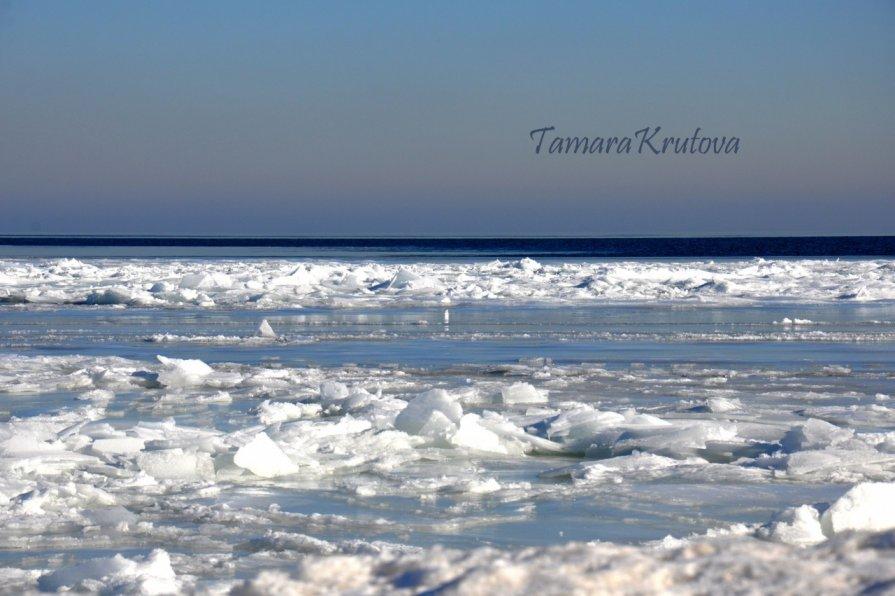 Азовское  море зимой - Тамара Крутова
