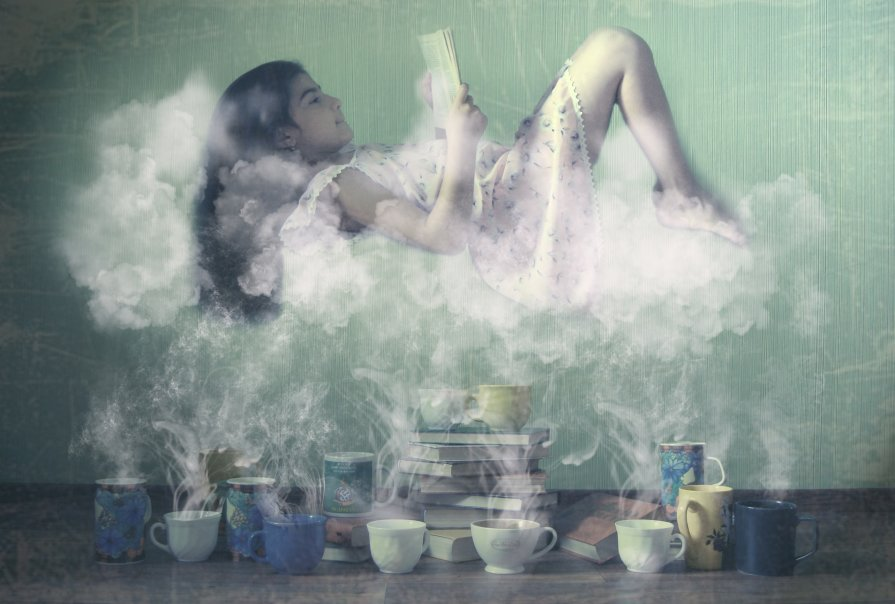 tea and book - Karina Kurs (RinaKa)