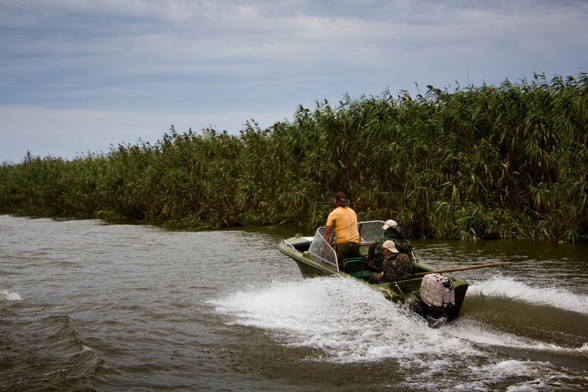рыбалка в разливах волги