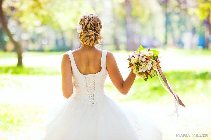 Прически на свадьбу в перми
