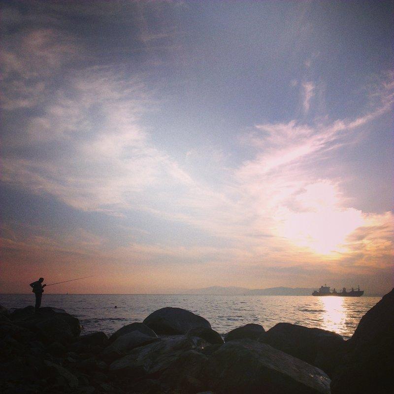 Одинокий рыбак - Человек Аркадий