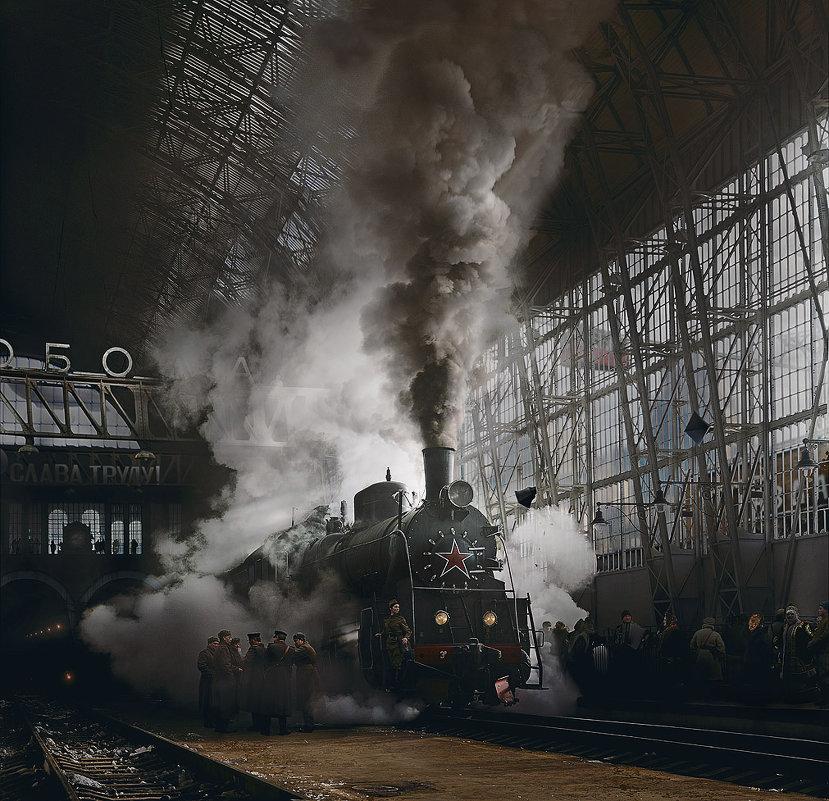 "Таганский вокзал ""Свобода"" - Борис Соломатин"