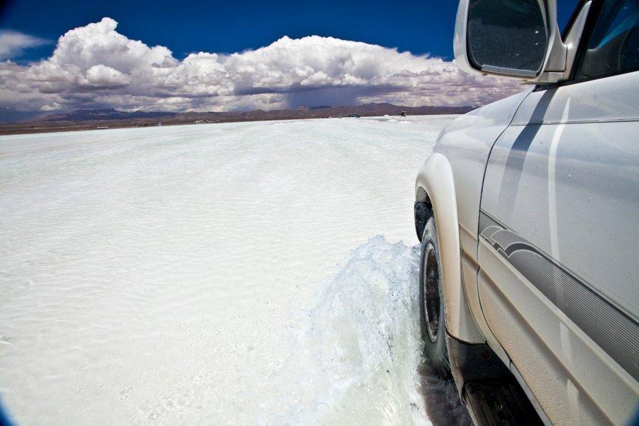 Боливия 2012, Уюни, Соляное озеро. - Олег Трифонов