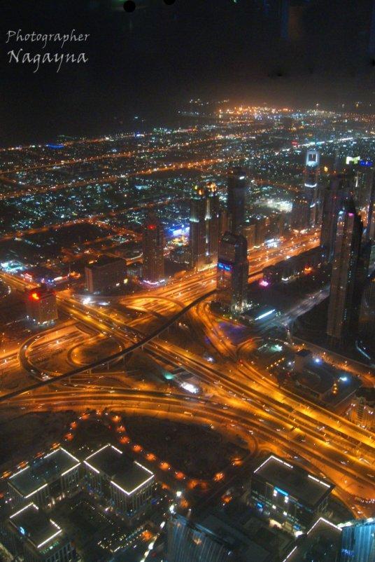 From the top of Burj Khalifa - Яна Бобкова