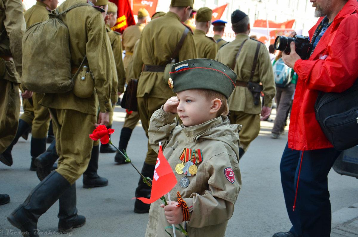 праздничные фото детей день победы еще раз