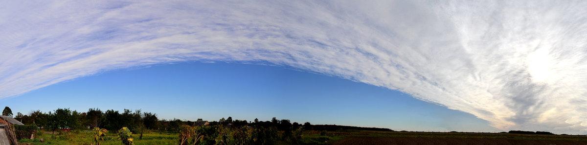 Панорама неба - Сливка Вікторія
