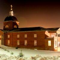 Знаменский монастырь. Рождественская ночь :: Максим Ролин