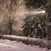 Падал снег. :: Alex Yordan