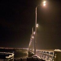 Зима, мост, улица, фонарь. :: Alex Yordan