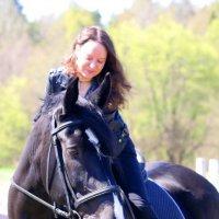 Уроки выездки :: Валентина Кондратова