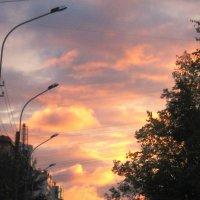 Дорога по небу :: Анна Балахонцева