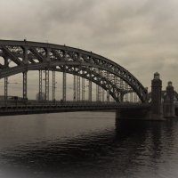 Большеохтинский мост. Петербург :: Елизавета Вавилова