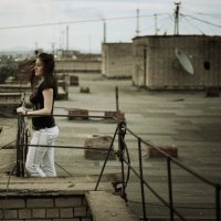 на крыше :: Julia Kh