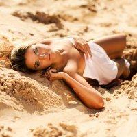 Sand girl :: Михаил Пустовит