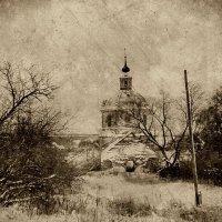 Церковь Рождества Пресвятой Богородицы в Сорогужино :: Евгений Жиляев