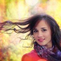 девушка ветра :: Дарья Антонова