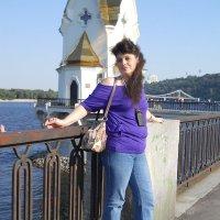 На набережной Днепра в Киеве :: Елена Гриц