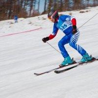 Горные лыжи :: Юрий Бородин
