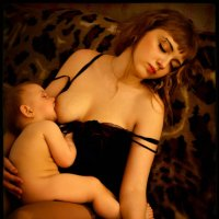 Vierge et l'Enfant Endormis (Dans la Clef d'Or) :: Андрей Пашис