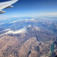 пролетая над Ираном :: Марина Докторова