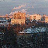 Городской закат :: константин чувилин