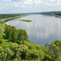река Томь :: Светлана Моисеева