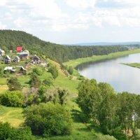 на реке Томь :: Светлана Моисеева