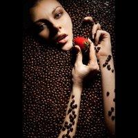 coffee with strawberry :: Сергей Кириченко
