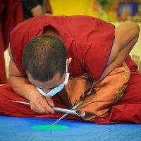 Тибетские монахи в Новосибирске :: Мария Гаврилова