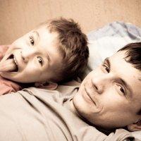 Отец и сын :: Pavel Bredikhin