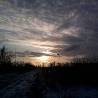 зимний рассвет :: Инесса Морозова