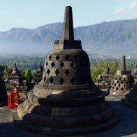 Borobudur. Java. Indonesia. :: Eva Langue