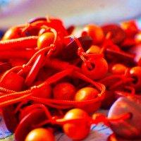Оранжевые бусы :: Александр Леонов