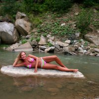 Горная речка :: Виктория Муро