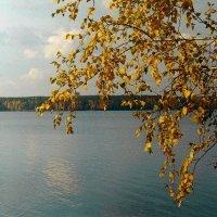 Золотое обрамление озера :: Стил Франс