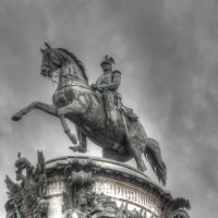 Памятник Николаю I :: Алексей Кудрявцев