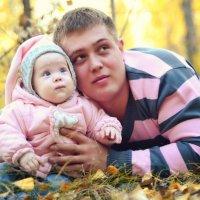 Папа и дочка :: Alexander Sheetov