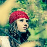 красная шапочка :: Настя Панькова