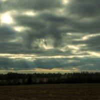 Вечернее осеннее небо. :: Andrei Dolzhenko