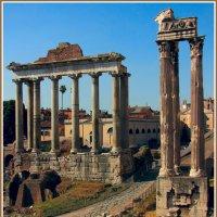 Руины древнего Рима :: Евгений Печенин