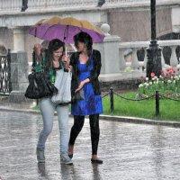 Дождь на манежной площади :: Александр Титов
