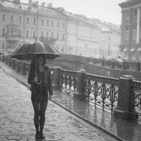 Дождливый город :: Алексей Лебедко