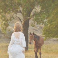 Девушка и Лошадь :: Карина Клочкова